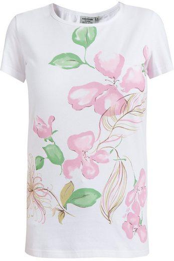 Finn Flare T-Shirt mit großem Blumen-Motiv