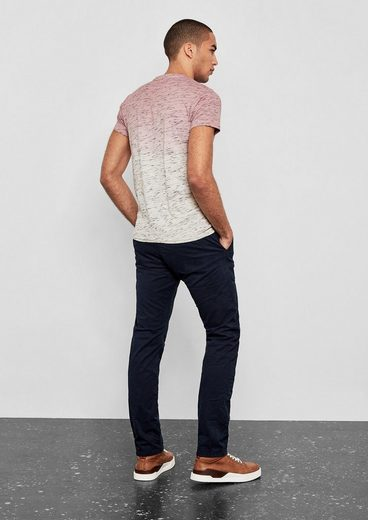 Q/S designed by Dip Dye-Jerseyshirt