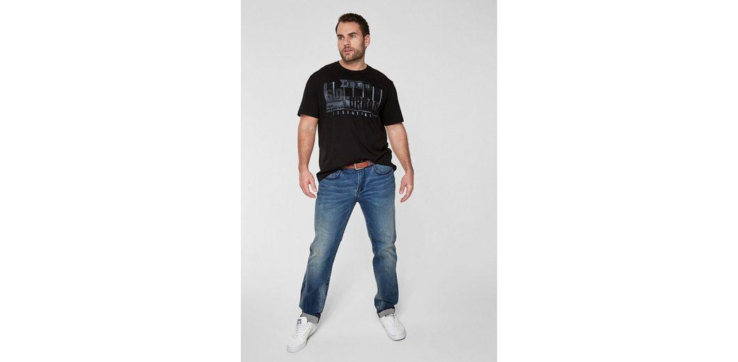 s.Oliver RED LABEL T-Shirt mit grafischem Print Footlocker Günstiger Preis eXOXMtEa