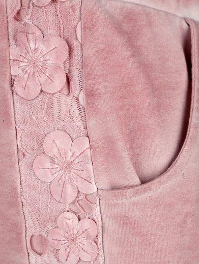 Paola Sweathose Dans Le Lavage À La Mode Teint À Lhuile