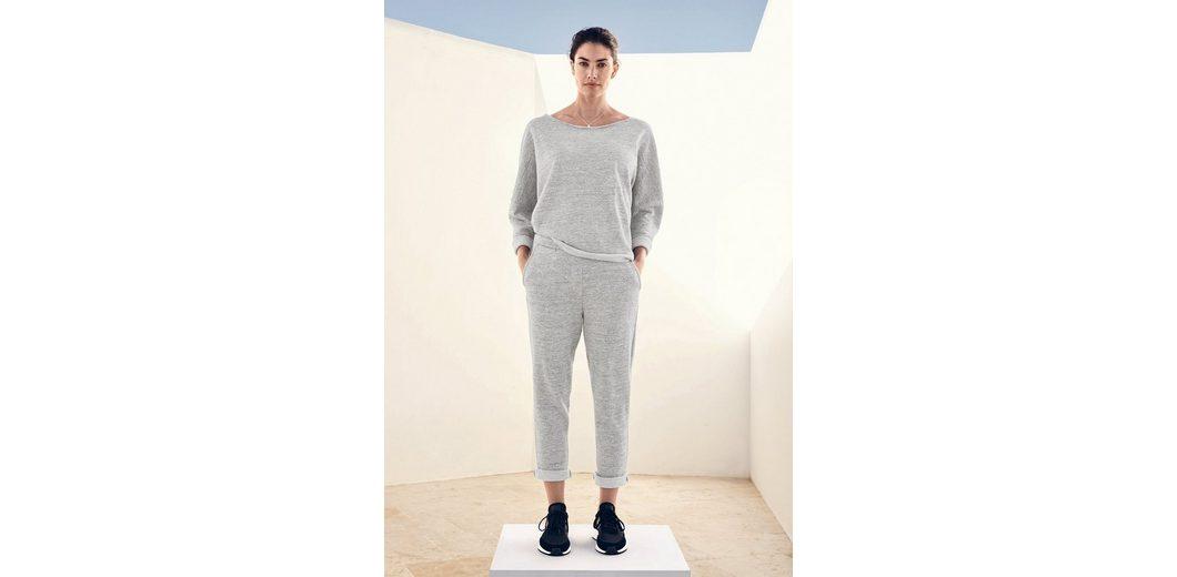 2018 Online Um Online-Verkauf TRIANGLE Sweatshirt mit Lurexgarn Günstig Kaufen Vorbestellung Billige Sast EJGQXa