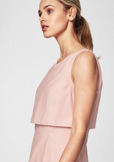 s.Oliver BLACK LABEL Kurzes Kleid im Layer-Look
