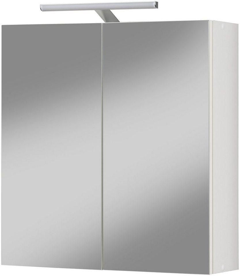 Kesper spiegelschrank turin aktion wei breite 56 5 cm for Mazda 5 breite mit spiegel