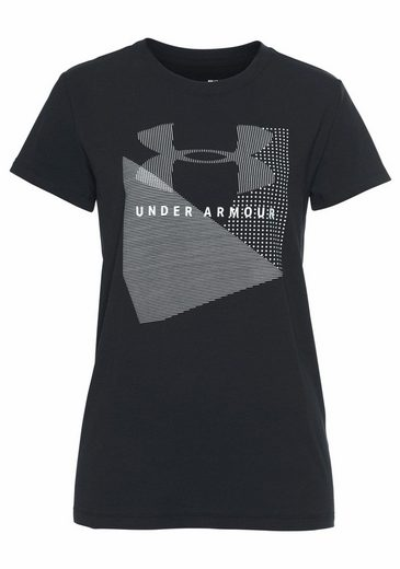 Under Armour® T-shirt Sportstyle Mesh Logo Crew