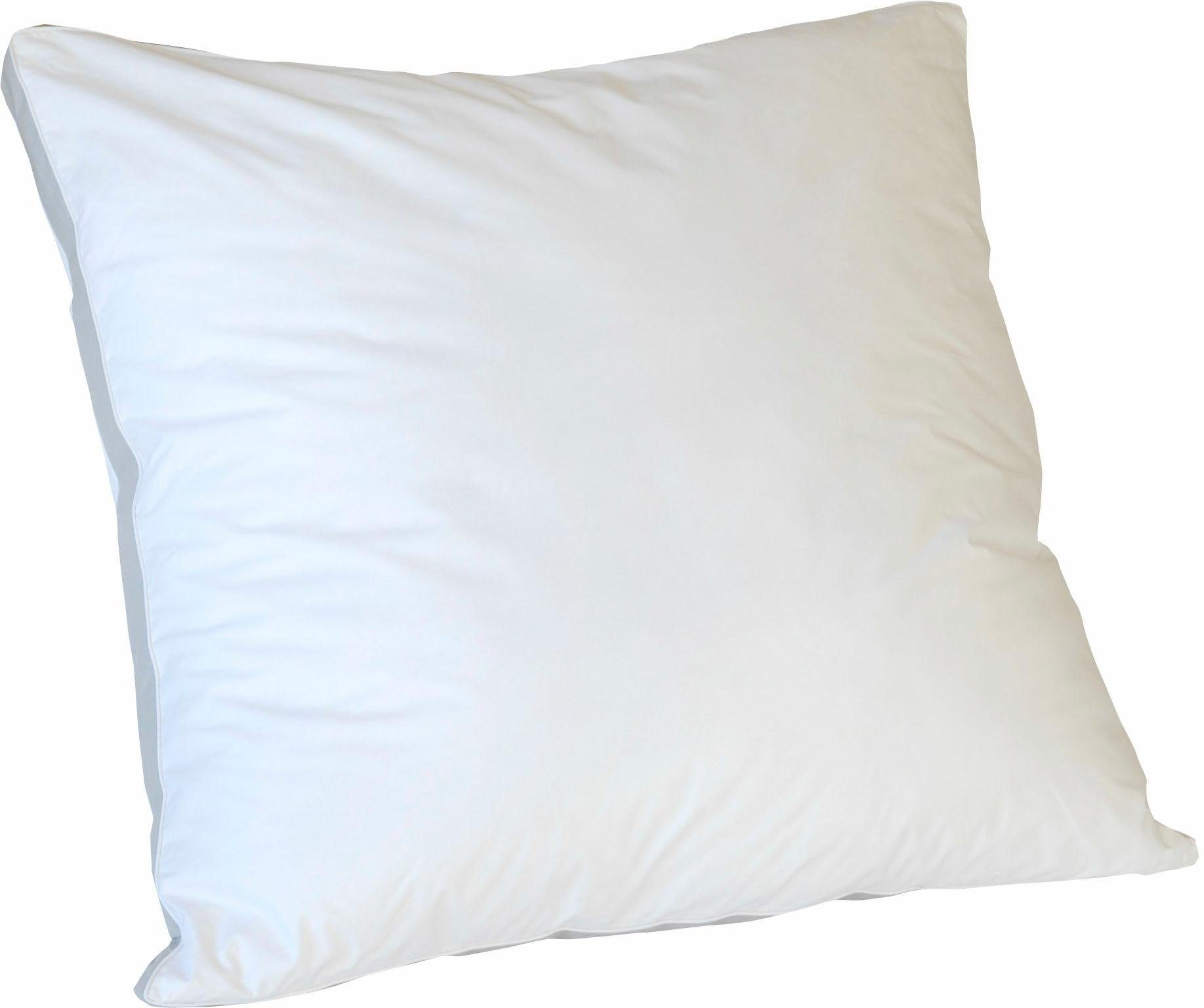 3-Kammer-Kopfkissen, »Wellness Hybrid«, KBT Bettwaren, Bezug: 100% Baumwolle, (1-tlg)
