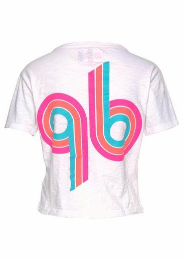 Superdry T-Shirt HYPER SOFT LABEL CROP TEE