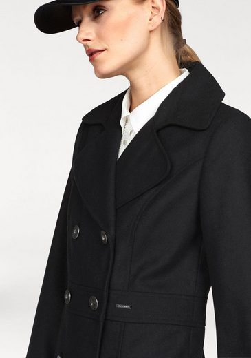 Bruno Banani Cabanjacke, im Uniform-Look