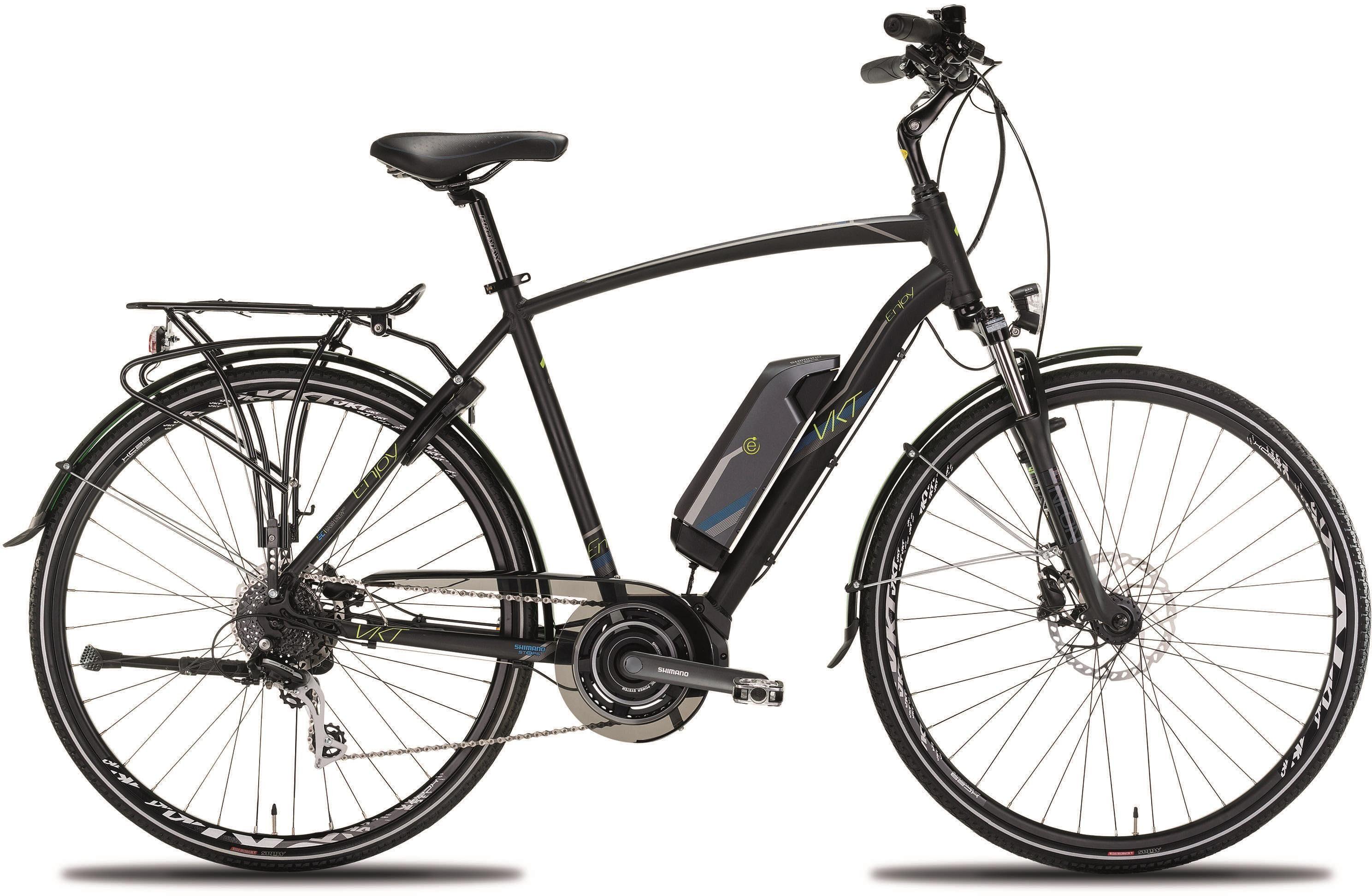 Montana Fahrräder E-Bike »N6000 ENJOY«, 8 Gang Shimano Shimano Acera M-360 Schaltwerk, Kettenschaltung, Mittelmotor 250 W