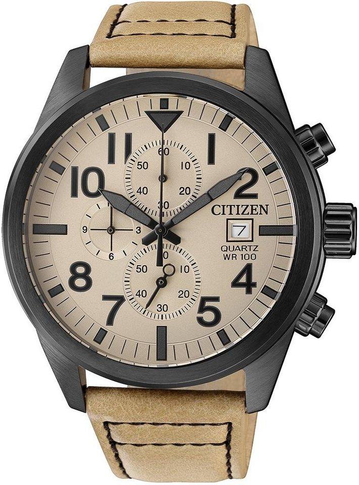 Citizen Chronograph »AN3625-07X« | Uhren > Chronographen | Braun | Citizen