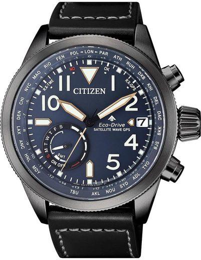 Citizen Solaruhr »CC3067-11L«, mit Satellite Timekeeping System