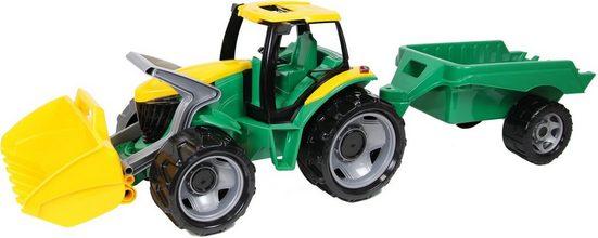 Lena® Spielzeug-Traktor »Giga Trucks«, mit Anhänger und Frontlader