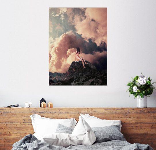 Posterlounge Wandbild, Du kamst aus den Wolken