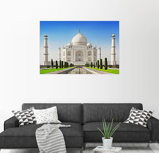 Posterlounge Wandbild »Taj Mahal, Agra, Indien«