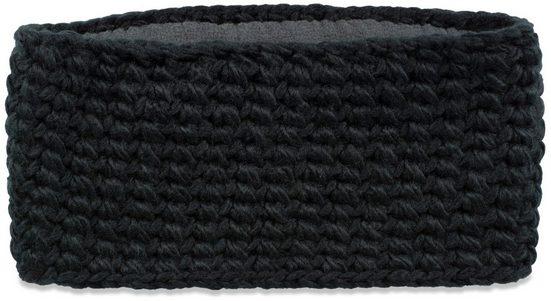 styleBREAKER Stirnband »Breites Grob Gehäkeltes Stirnband Einfarbig« Breites Grob Gehäkeltes Stirnband Einfarbig