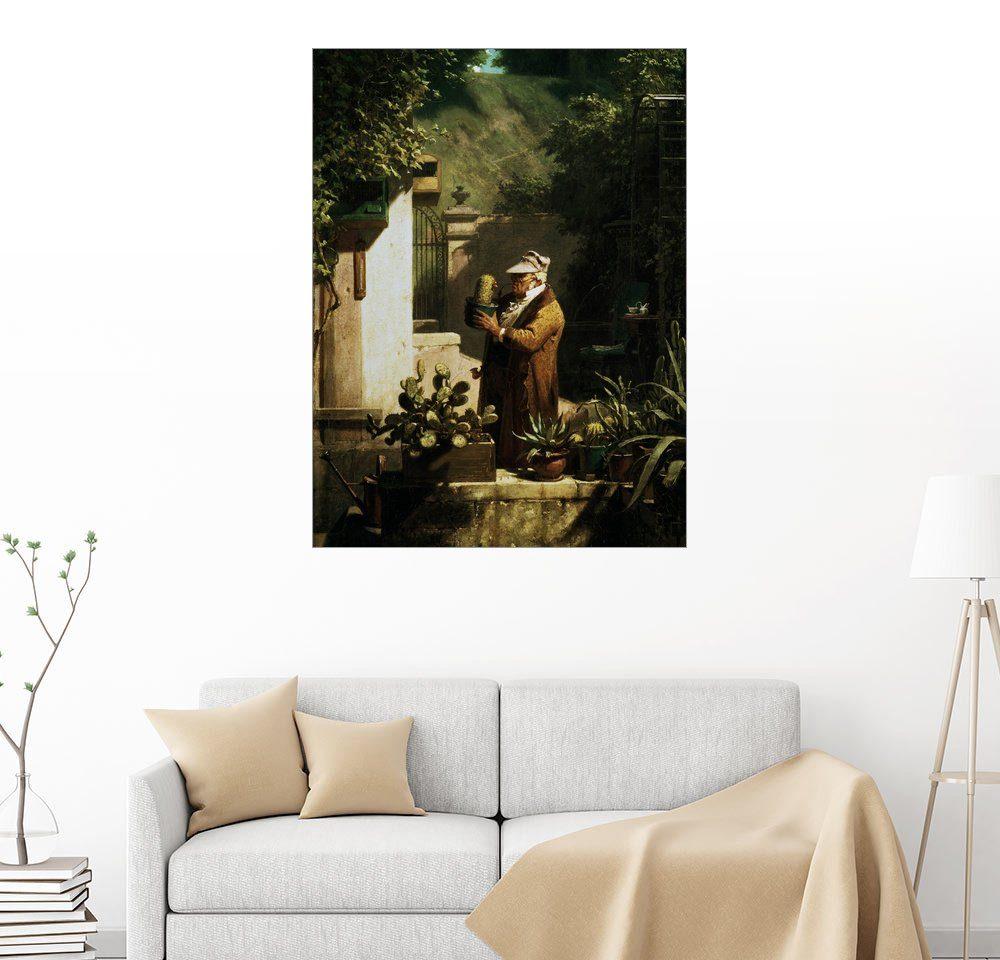 Posterlounge Wandbild - Carl Spitzweg »Kaktusfreund«