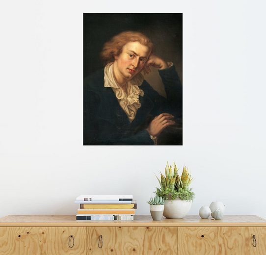 Posterlounge Wandbild - Anton Graff »Friedrich Schiller«