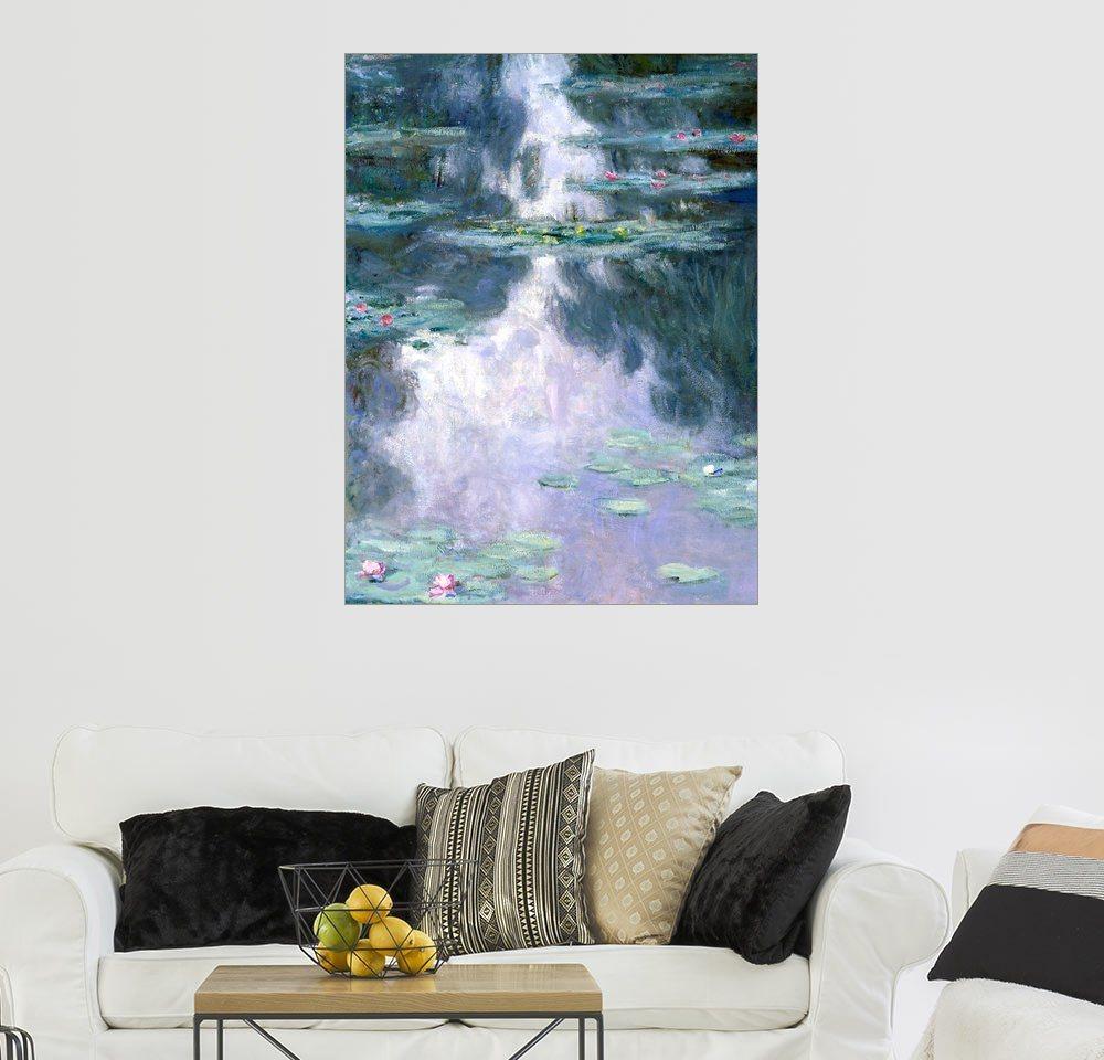 Erfreut Monet Färbung Seiten Seerosen Galerie ...