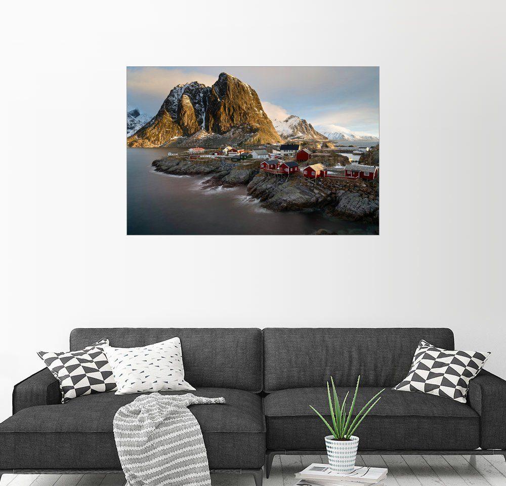 Posterlounge Wandbild - Markus Kapferer »Hamnoy 06 | Lofoten, Norwegen«