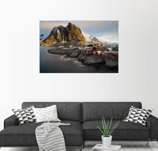 Posterlounge Wandbild - Markus Kapferer »Hamnoy 06, Lofoten, Norwegen«