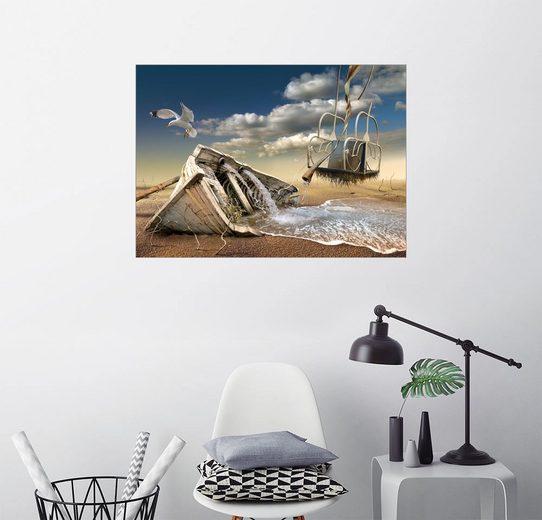 Posterlounge Wandbild - Radoslav Penchev »Gestrandet«
