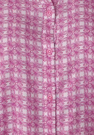 Cecil Ornamental-print Bluse