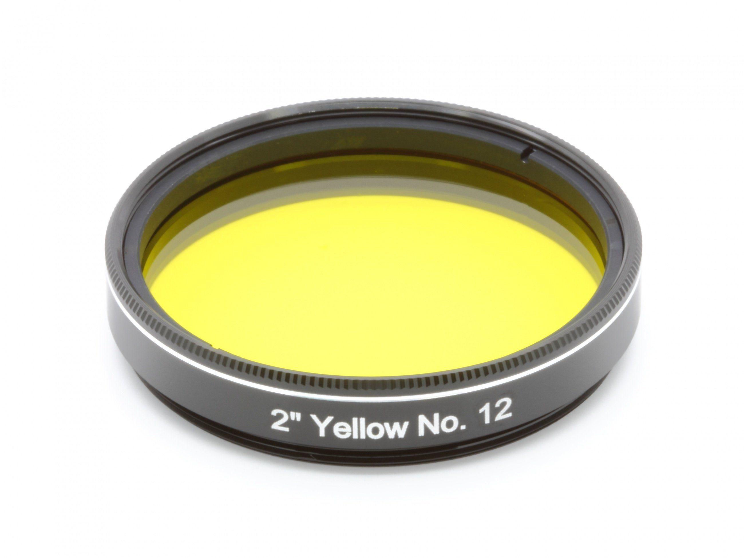"""Explore Scientific Filter »2"""" Gelb Nr.12«"""