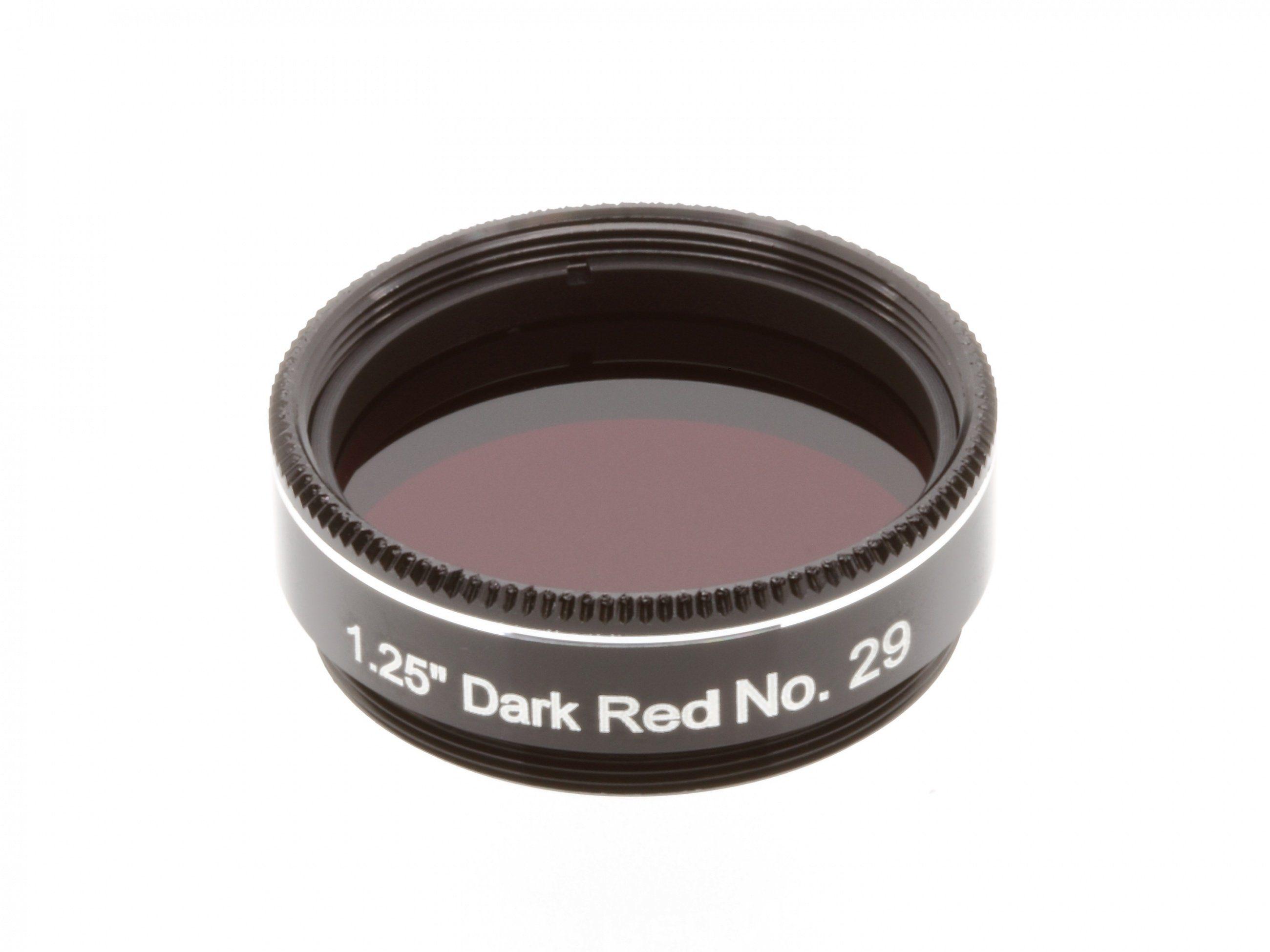 """Explore Scientific Filter »1.25"""" Dunkelrot Nr.29«"""
