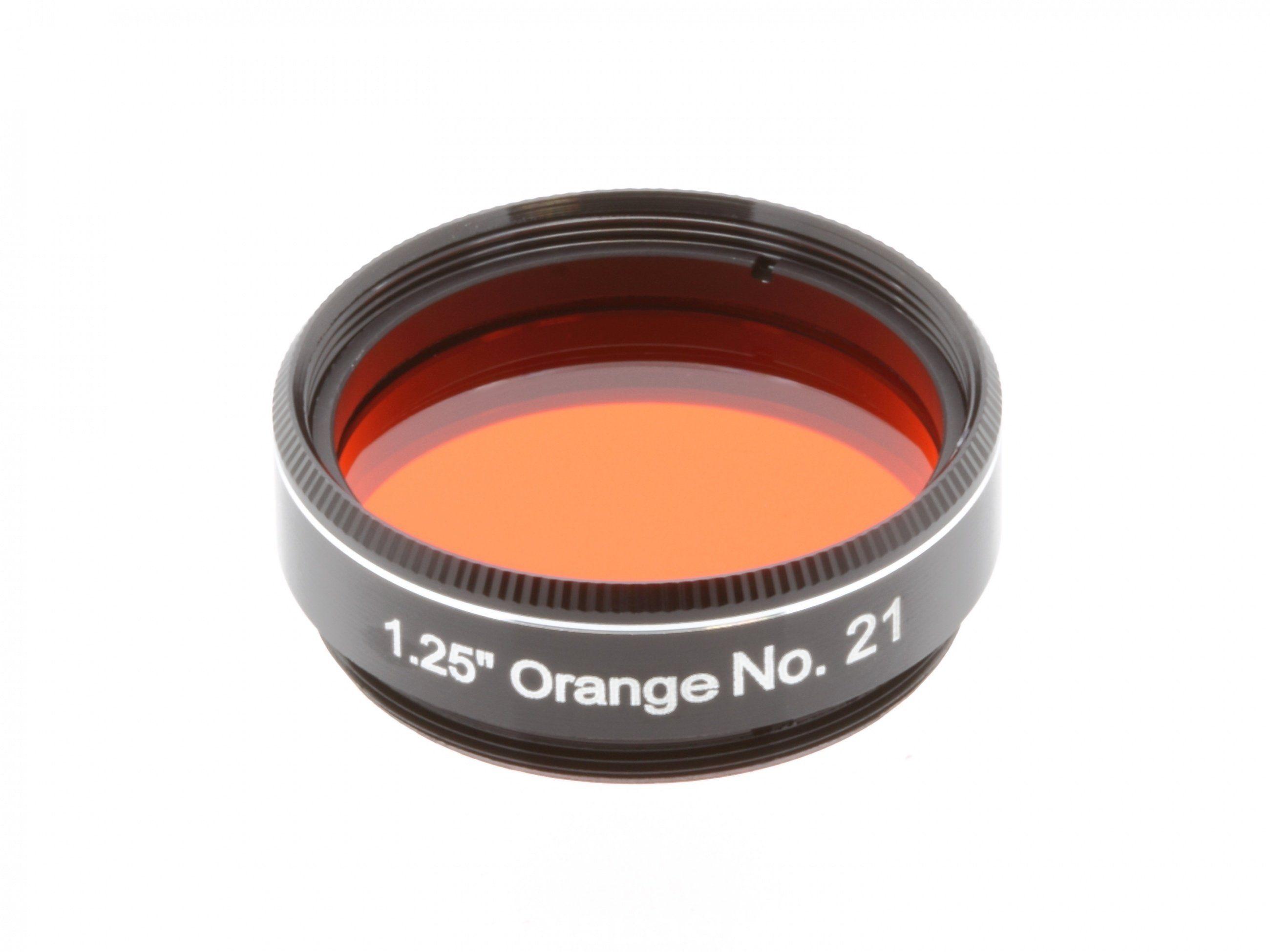 """Explore Scientific Filter »1.25"""" Orange Nr.21«"""