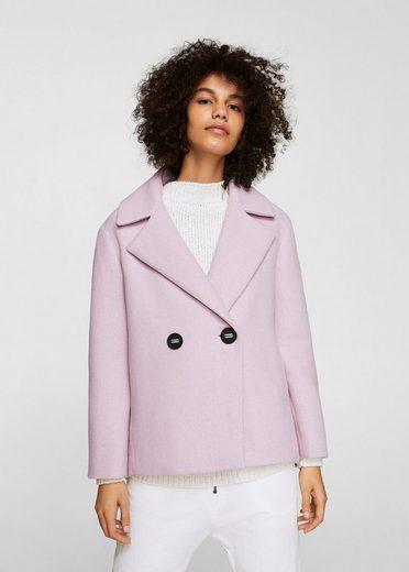 MANGO Zweireihiger Mantel