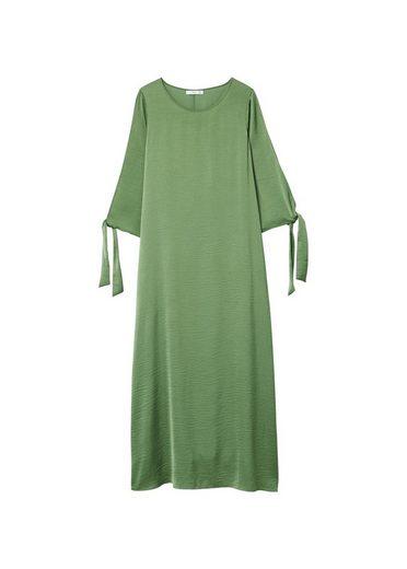 Mango Long Satin Dress