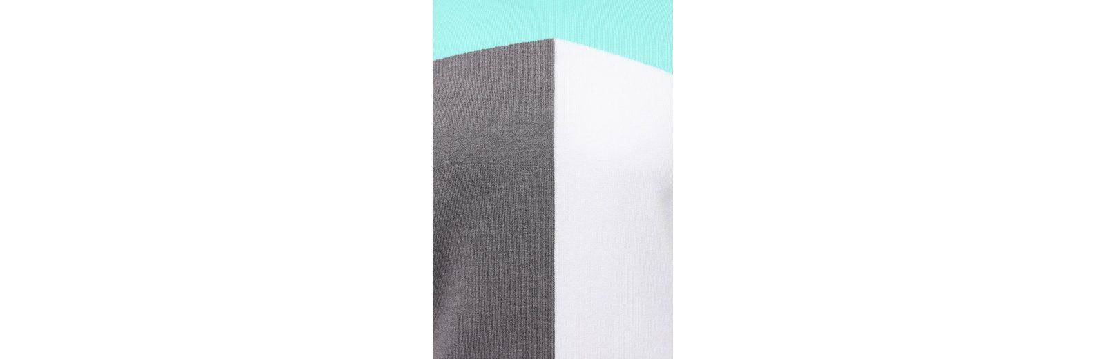 Finn Finn mit trendigem Blocking Color Flare Pullover Flare Irrpxf