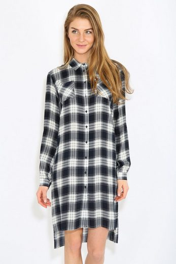 Finn Flare Casual Dress With Caro Pattern