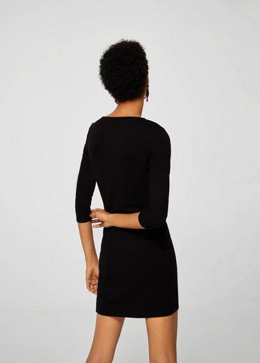 MANGO Kleid mit drapiertem Detail
