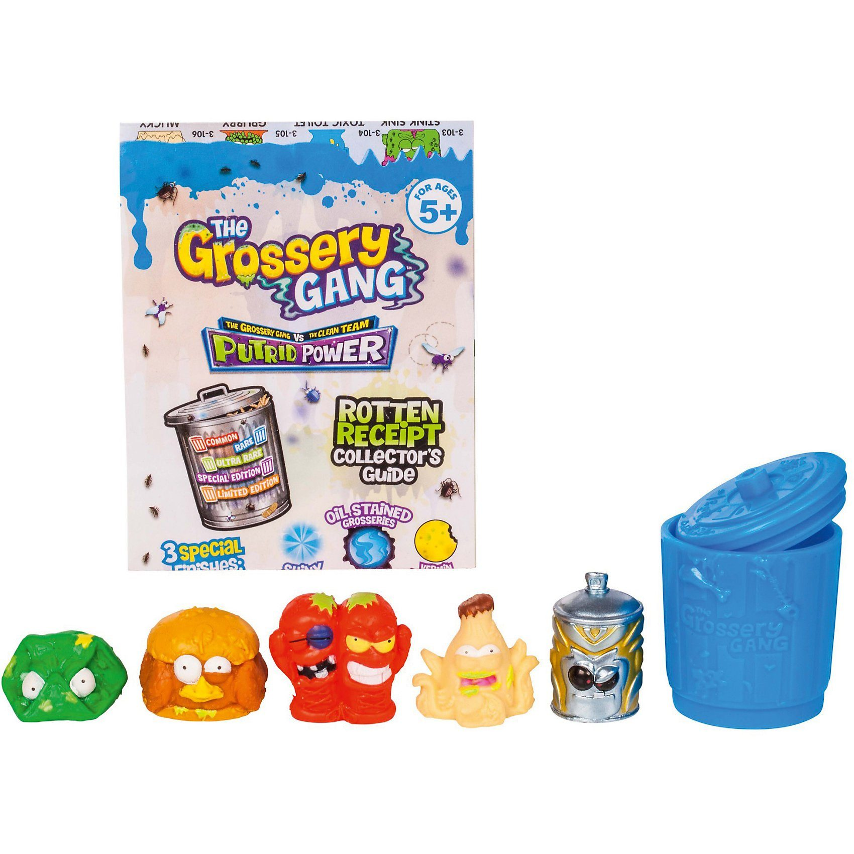 SIMBA Grossery Gang Putrid Power, Sammelfiguren, 5er Pack