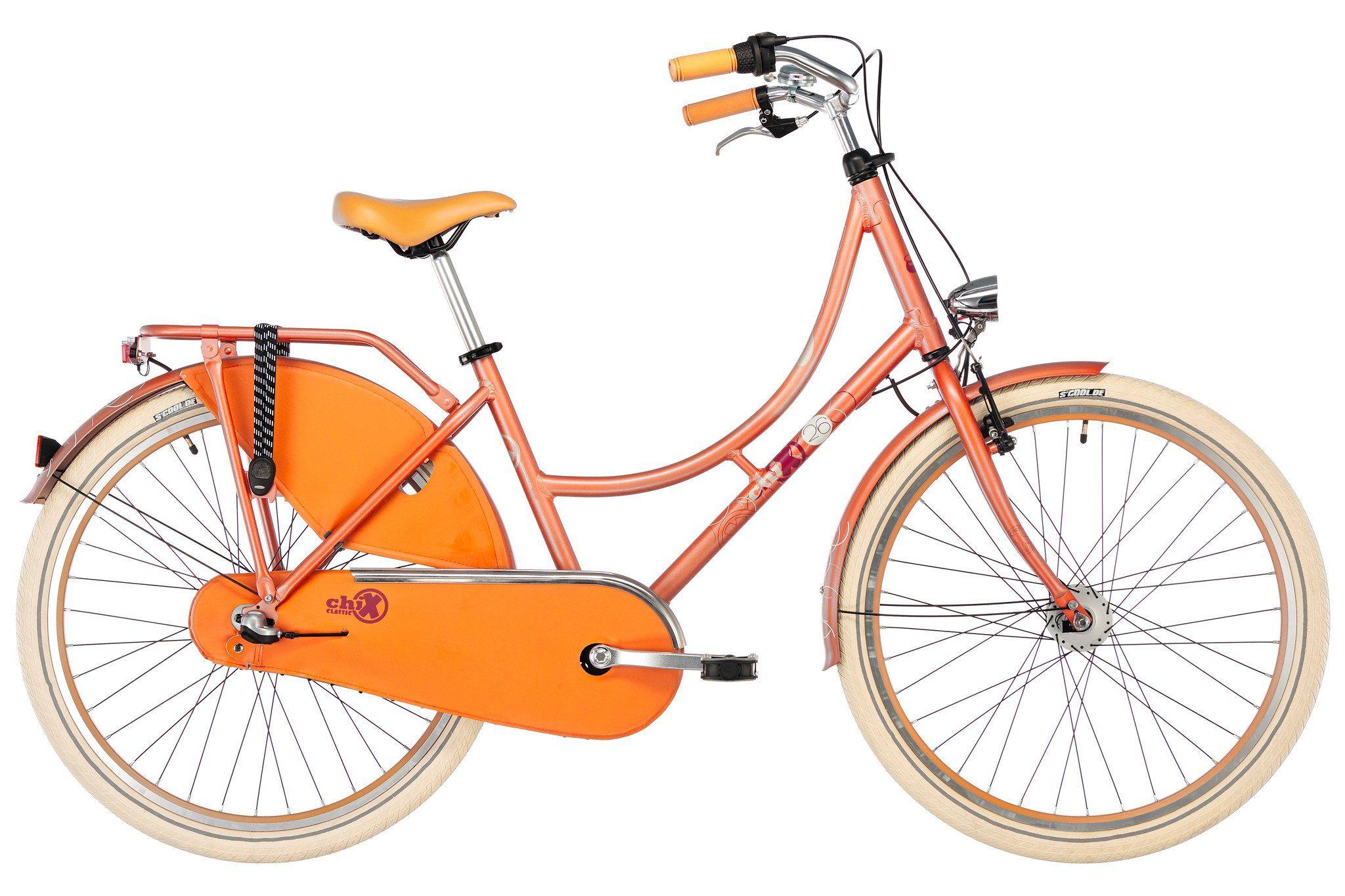 S'COOL Fahrrad »chiX classic 26 3-S«