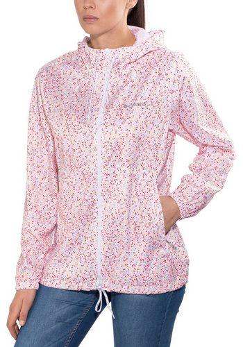 Damen Columbia Outdoorjacke Flash Forward Printed Windbreaker Jacket Women weiß | 00190893293211