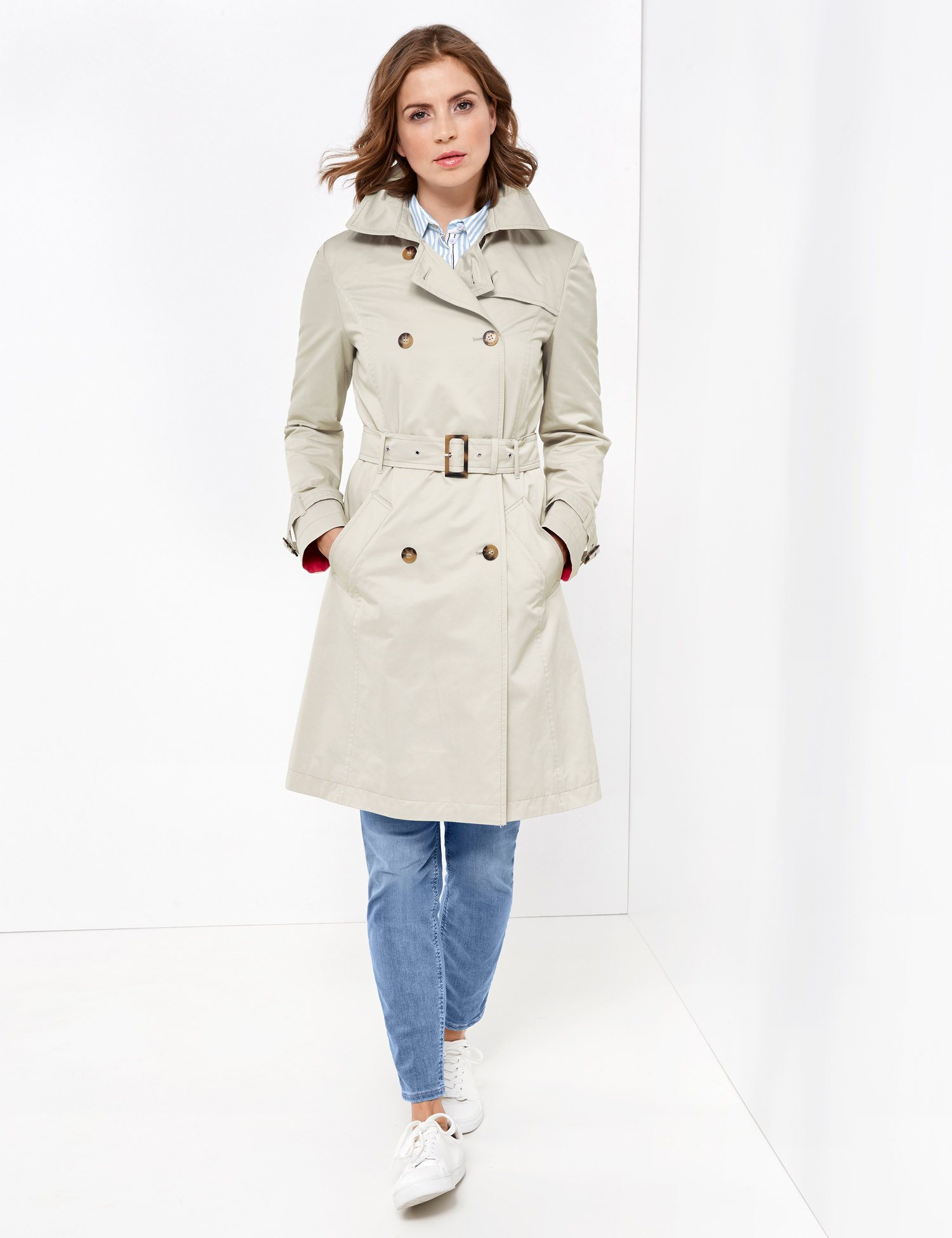 GERRY WEBER Mantel nicht Wolle »Trenchcoat« | Bekleidung > Mäntel > Trenchcoats | Wolle - Polyester | Gerry Weber