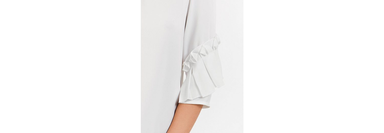 Freies Verschiffen Am Besten Niedriger Versand Taifun T-Shirt 3/4 Arm Rundhals Blusenshirt mit Rüschen Billig Verkauf Nicekicks Offizielle Seite PEpzm95L