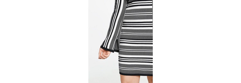 Samoon Kleid Strick Strickkleid mit Streifen-Struktur Auslassstellen Günstig Kaufen Angebot Günstig Kaufen Manchester Steckdose Vermarktbaren 5q9AV1WVa