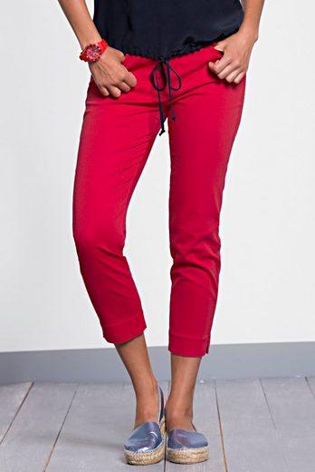 bianca 7/8-Hose DENVER, 5 Pocket in trendigem rot mit schmaler Passform