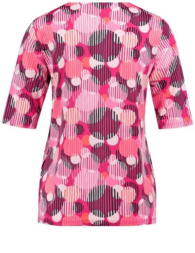 Gerry Weber T-shirt 1/2 Arm 1/2 Arm Shirt With Donut Pattern