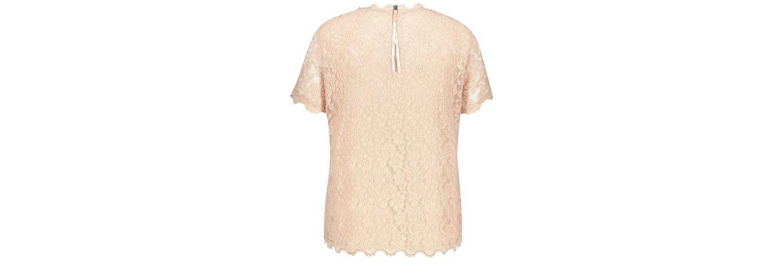 Rabatt Online-Shopping Samoon T-Shirt Kurzarm Rundhals Spitzenshirt 2018 Neuer Günstiger Preis Erschwinglicher Verkauf Online Mit Mastercard Online-Verkauf B53bDo