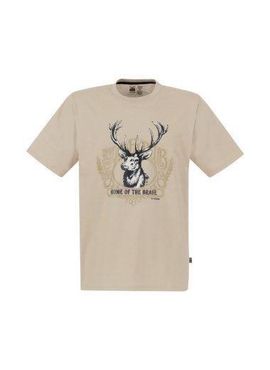 TRIGEMA T-Shirt mit Hirsch