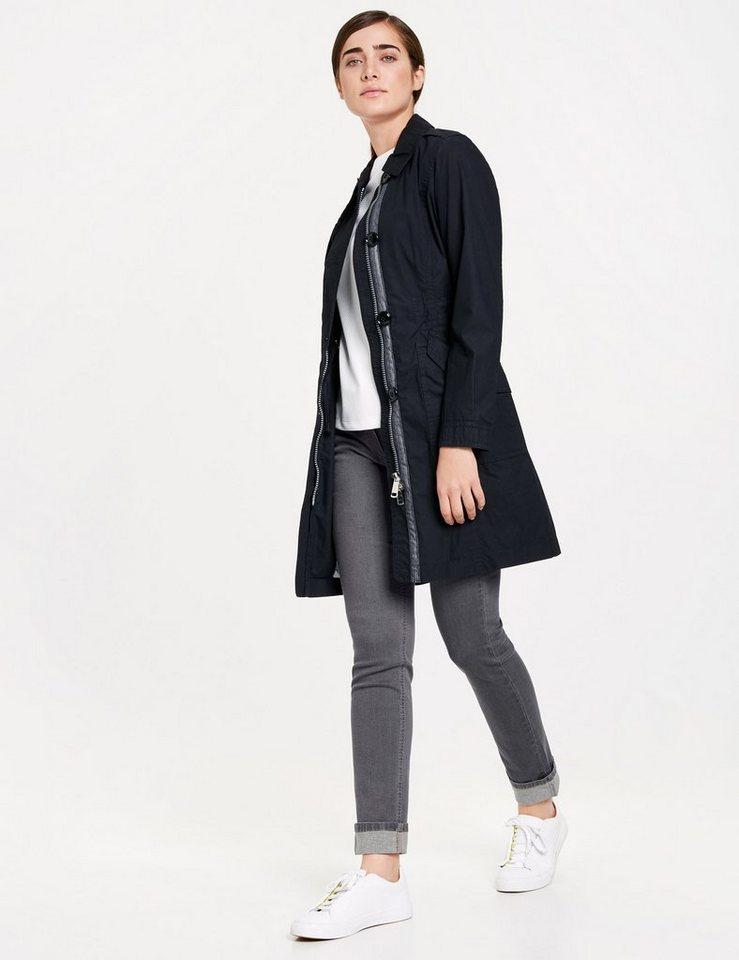 taifun mantel nicht wolle trenchcoat aus baumwolle online kaufen otto. Black Bedroom Furniture Sets. Home Design Ideas