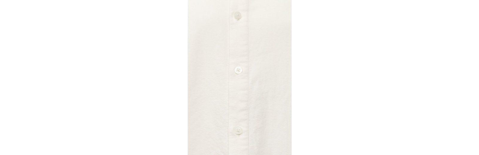 Finn Flare Business-Hemd mit klassischer Knopfleiste Finish Auslass Truhe qA9rK75