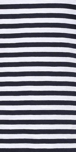 Finn Flare T-Shirt mit modischen Ringelstreifen