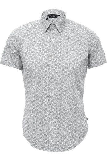 Finn Flare Kurzarmhemd mit modischem Paisleymuster