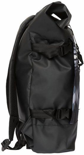 Backpack Top Roll multi« Black »hiker Mit Enter Rucksack Laptopfach AqvxxaR