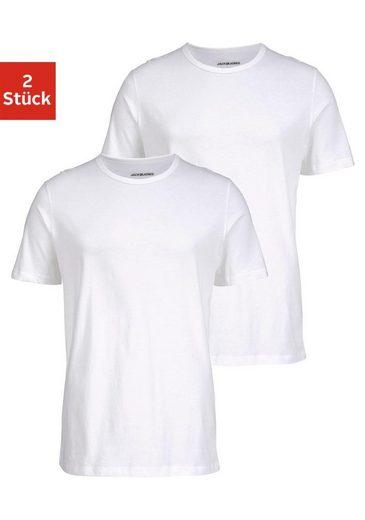 Jack & Jones T-Shirt »Crew-Neck« (2er-Pack)