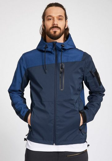 khujo Outdoorjacke ENRICO, in zweifarbigem Design